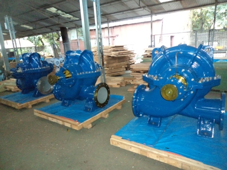 Doppel Flutige Pumpe double volute pump Axial Split